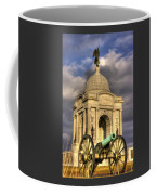 Pennsylvania At Gettysburg 2a - State Monument - Hancock Ave At Pleasonton Ave Late Afternoon Winter Coffee Mug