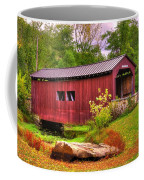 Pennsylvania Country Roads - Everhart Covered Bridge At Fort Hunter - Harrisburg Dauphin County Coffee Mug