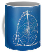 Penny-farthing 1867 High Wheeler Bicycle Blueprint Coffee Mug