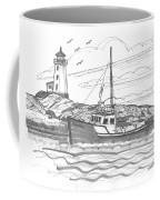 Peggy's Cove Lighthouse Nova Scotia Coffee Mug