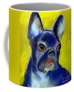 Pensive French Bulldog Portrait Coffee Mug