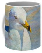 Pensive Seagull Coffee Mug