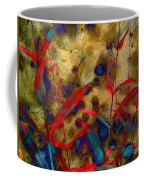 Penstemon Abstract 2 Coffee Mug