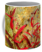 Penstemon Abstract 4 Coffee Mug