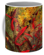 Penstemon Abstract 5 Coffee Mug