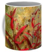 Penstemon And Boulder Coffee Mug
