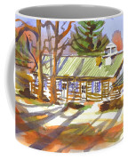 Penuel Lodge In Winter Sunlight Coffee Mug