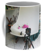 Peonies And Tripod Coffee Mug