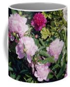 Peonies In Pinks Coffee Mug