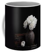 Peony Still Life Coffee Mug