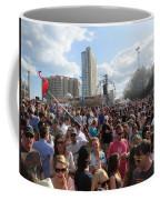 People As Far As The Eye Can See Coffee Mug