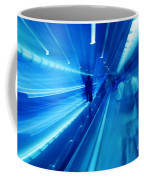 People Rush In Subway. Coffee Mug