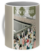 People Visit The 9/11 Memorial Coffee Mug