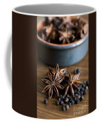 Pepper And Spice Coffee Mug by Anne Gilbert
