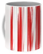 Peppermint Stick Abstract Coffee Mug