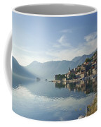 Perast Village In The Bay Of Kotor In Montenegro  Coffee Mug