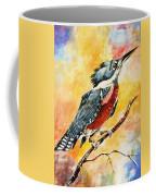 Perched Kingfisher Coffee Mug