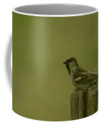 Perched On A Fence Post Coffee Mug