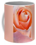 Perfection In A Peach Rose Coffee Mug