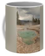 Perforated Pool In West Thumb Geyser Basin Coffee Mug