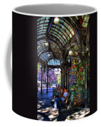 Pergola Shadow Play Coffee Mug