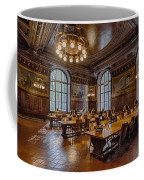 Periodical Room At The New York Public Library Coffee Mug