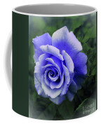 Periwinkle Rose Coffee Mug