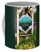 Perkins Cove Sign Coffee Mug