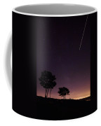 Perseids Meteor Over Sasco Hill Coffee Mug