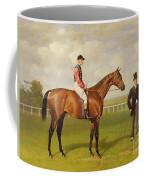 Persimmon Winner Of The 1896 Derby Coffee Mug by Emil Adam