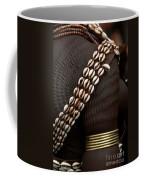 Person Showing Cowry Shell Detail Coffee Mug