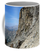 Person Walking Up Steep Stony Coffee Mug