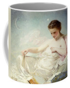 Personification Of The Sciences Coffee Mug by Charles Chaplin