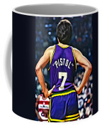 Pete Maravich Coffee Mug by Florian Rodarte