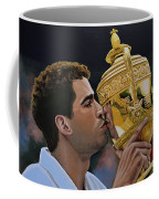 Pete Sampras Coffee Mug by Paul Meijering