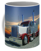 Peterbilt At The Beach  Coffee Mug