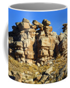 Petrified Forest Rock Formations Coffee Mug
