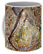 Petrified Wood In Crystal Forest In  Petrified Forest National Park-arizona Coffee Mug