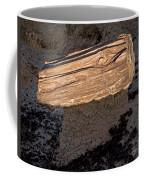 Petrified Wood On A Pedestal Coffee Mug