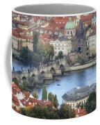 Petrin View Coffee Mug by Joan Carroll