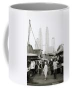 Petronas Over Kampung Baru Coffee Mug