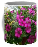 Petunia Basket Coffee Mug