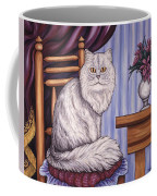 Pewter The Cat Coffee Mug