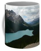 Peyote Lake In Banff Alberta Coffee Mug