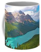 Peyto Lake Along Icefield Parkway In Alberta-canada Coffee Mug