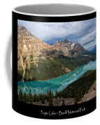 Peyto Lake Poster Coffee Mug