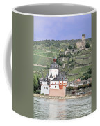 Pfalzgrafenstein With Burg Gutenfels  Coffee Mug
