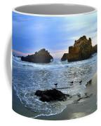 Pfeiffer Beach Big Sur Twilight Coffee Mug