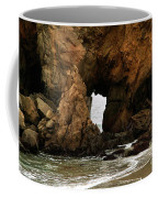 Pfeiffer Beach Rocks In Big Sur Coffee Mug