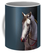 Phantom Lover - Portrait Of A Race Horse Coffee Mug